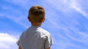 child-sky